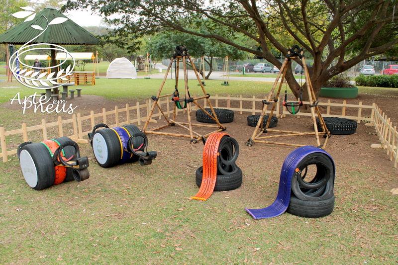 brinquedos de pneu